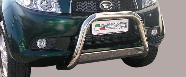 Frontschutzbügel Kuhfänger Bullfänger Daihatsu Terios CX Version 2006-2009, Medium Bar 63mm Edelstahl Omologato Inox