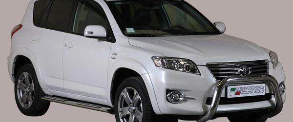 Frontschutzbügel Kuhfänger Bullfänger Toyota RAV4 2010-2013, Super Bar 76mm Edelstahl Omologato Inox
