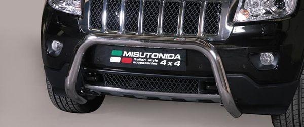 Frontschutzbügel Kuhfänger Bullfänger Jeep Grand Cherokee 2011-2013, Super Bar 76mm Edelstahl Omologato Inox
