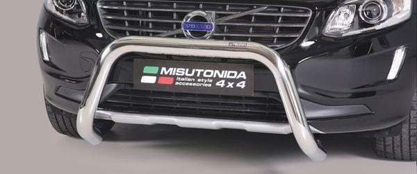 Frontschutzbügel Kuhfänger Bullfänger VW Amarok Trend Line 2010-2016, Super Bar 76mm Edelstahl Omologato Inox