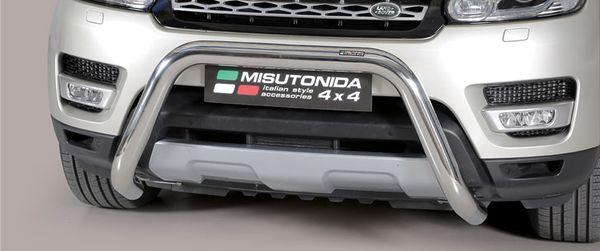 Frontschutzbügel Kuhfänger Bullfänger Landrover Range Rover 2014-, Super Bar 76mm Edelstahl Omologato Inox