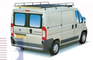 King Ping Dachträger, Gewerbe Transporter für Fiat Ducato 250 L2 (Radstd. 3450)/ H2 (Hochd.), Bj. 2006-