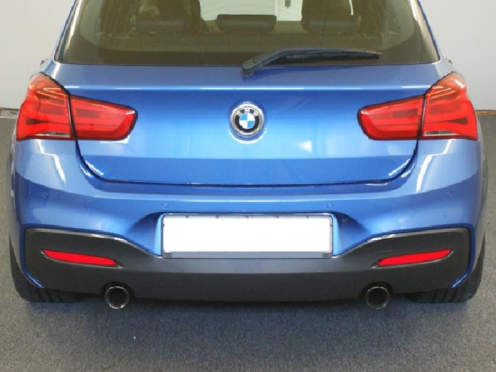 Anhängerkupplung für BMW-1er - 2011-2014 F20, speziell M135i nur für Heckträgerbetrieb Ausf.:  vertikal