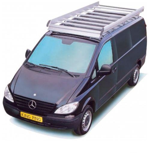 King Ping Dachträger, Gewerbe Transporter für Mercedes Vito Modell mit Türen L1H1, Radstand 3200mm, Bj. 1998-2004