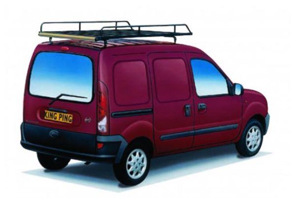 King Ping Dachträger, Gewerbe Transporter für Nissan Kubistar ohne Dachluke, Bj. 1997-2004