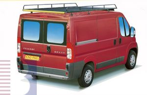 King Ping Dachträger, Gewerbe Transporter für Peugeot Boxer Radstand 3450mm, Hochdach, Bj. 2006-