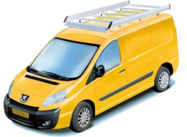 King Ping Dachträger, Gewerbe Transporter für Peugeot Expert Radstand 3000mm, Bj. 2006-