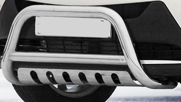 Frontschutzbügel Kuhfänger Bullfänger Nissan Juke 4x2 2010-, Frontbügel 70mm Unterfahrschutz Edelstahl