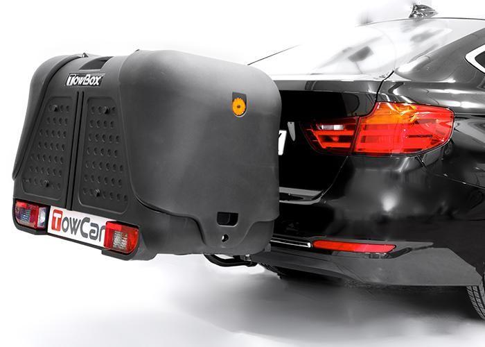 TowBox System BOX System BOX V2, schwarz, seitl. Beladung AHK Lastenträger