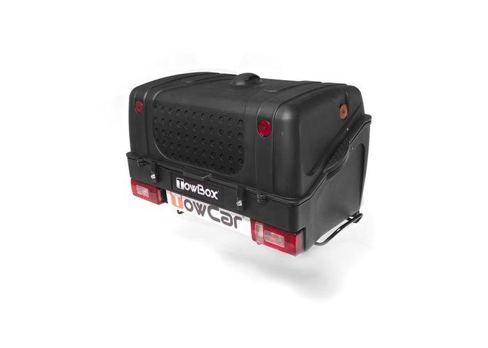 TowBox System BOX System BOX V1, schwarz, Toplader AHK Lastenträger