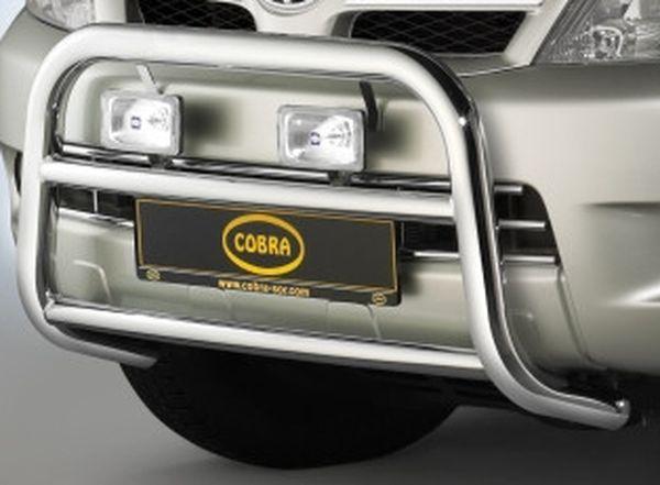 Frontschutzbügel Kuhfänger Bullfänger Toyota Hi-Lux 2006-2011, Frontbügel 60mm Edelstahl