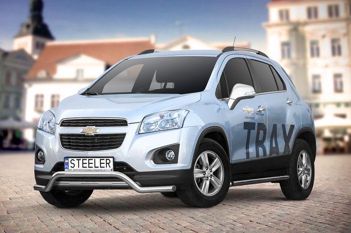 Frontschutzbügel Kuhfänger Bullfänger Chevrolet Trax 2013-, Sportbar 60mm