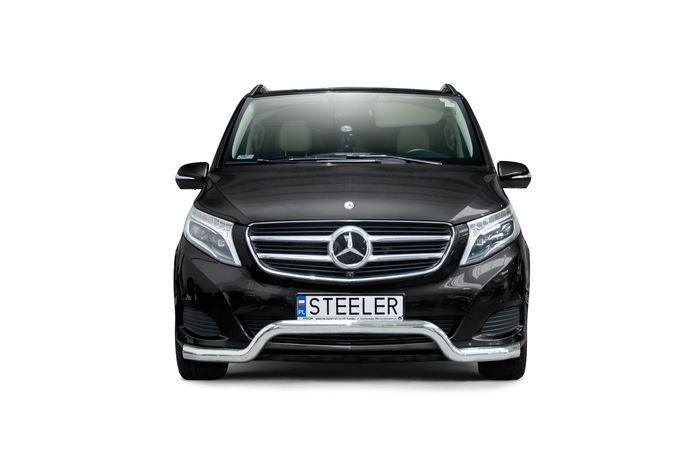 Frontschutzbügel Kuhfänger Bullfänger Mercedes V-Klasse 2014-, Sportbar 70mm