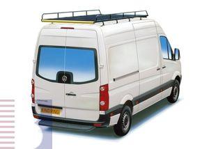 King Ping Dachträger, Gewerbe Transporter für VW Crafter, Radstand 4320mm, Hochdach, Bj. 2006-2017