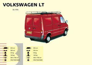King Ping Dachträger, Gewerbe Transporter für VW LT, flaches Dach, Radstand 3550mm, Bj. 1996-