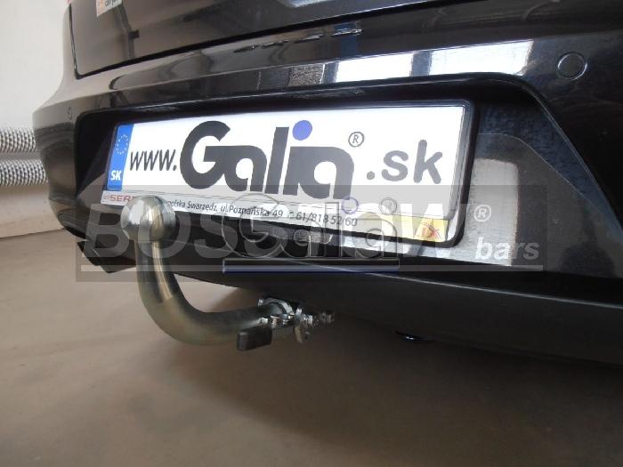 Anhängerkupplung für Audi-A4 Avant - 2004-2007 nicht Quattro, nicht RS4 und S4, incl. S-line Ausf.:  horizontal