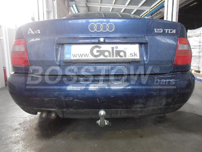 Anhängerkupplung für Audi-A4 Limousine - 1999-2001 Quattro Ausf.:  horizontal