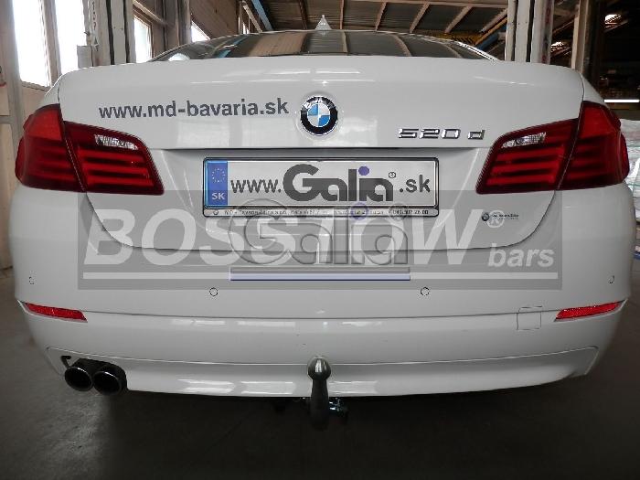 Anhängerkupplung für BMW-5er - 2010-2014 Touring F11 Ausf.:  horizontal