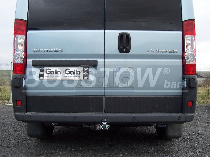 Anhängerkupplung Citroen Jumper Kasten, Bus, alle Radstände L1, L2, L3, L4, XL, Baureihe 2011-2014  horizontal