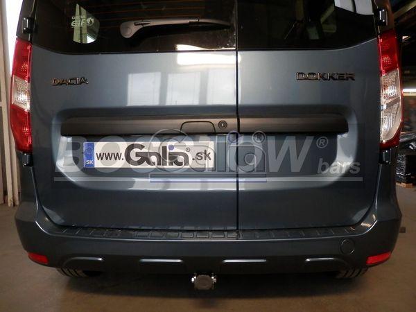 Anhängerkupplung für Dacia-Dokker - 2017- spez. LPG Gasfahrzeuge Ausf.:  horizontal