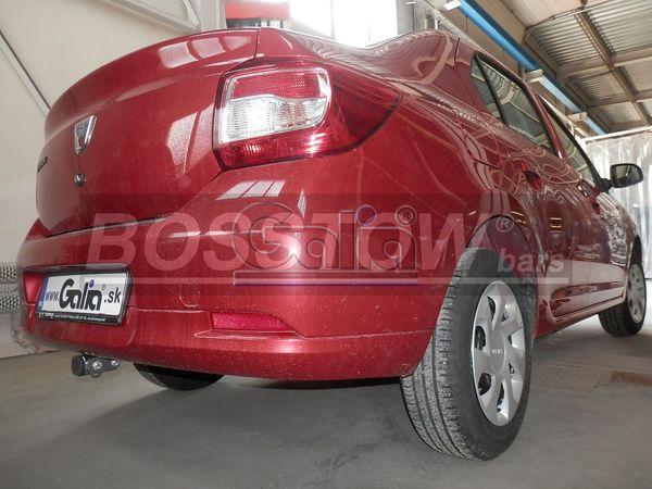 Anhängerkupplung für Dacia-Logan - 2013-2016 Limousine, spez. LPG Ausf.:  horizontal