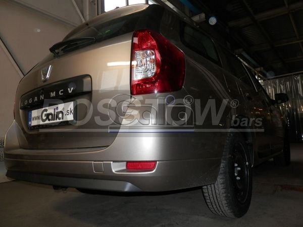 Anhängerkupplung für Dacia-Logan - 2013- Kombi MCV, spez. Fzg. mit Gasanlage Ausf.:  horizontal