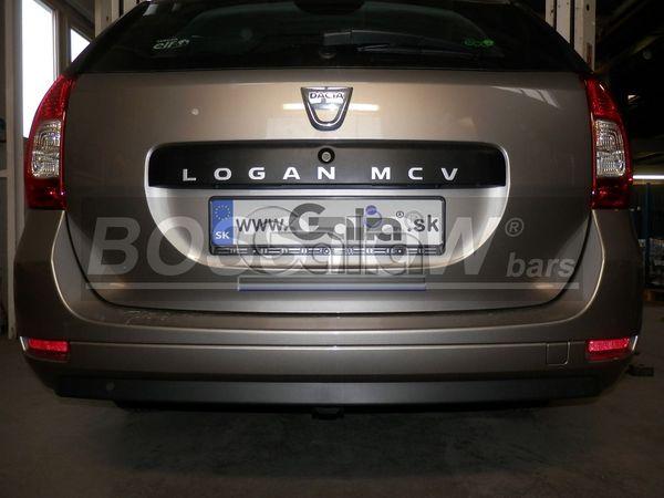 Anhängerkupplung für Dacia-Logan - 2013- Van Express Ausf.:  horizontal