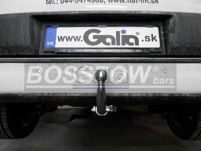 Anhängerkupplung Fiat 500 L Living, Baureihe 2012-2017  horizontal