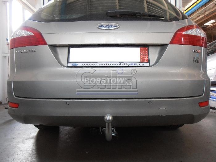 Anhängerkupplung für Ford-Mondeo - 2007-2015 Turnier, nicht 4x4, nicht RS,ST Ausf.:  horizontal
