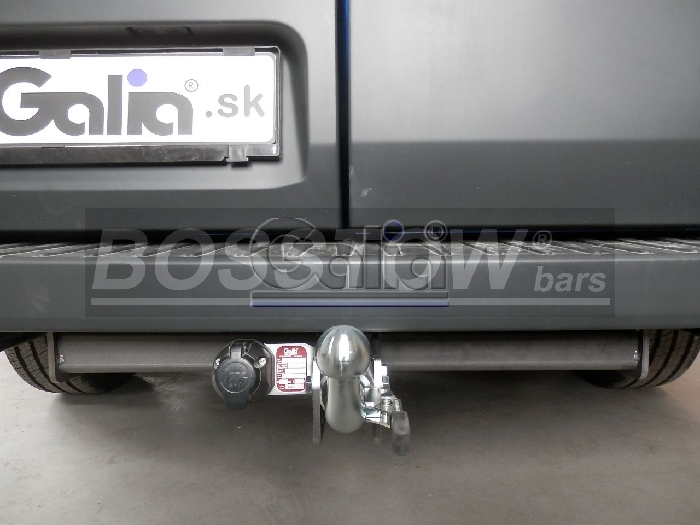 Anhängerkupplung für Ford-Transit Bus, Kastenwagen - 2019- 2, 9- 4,6 t Gesamtgewicht- Fzg. mit Elektrosatz Vorbereitung, Fzg. mit Euro 6.2 Motor Ausf.:  horizontal