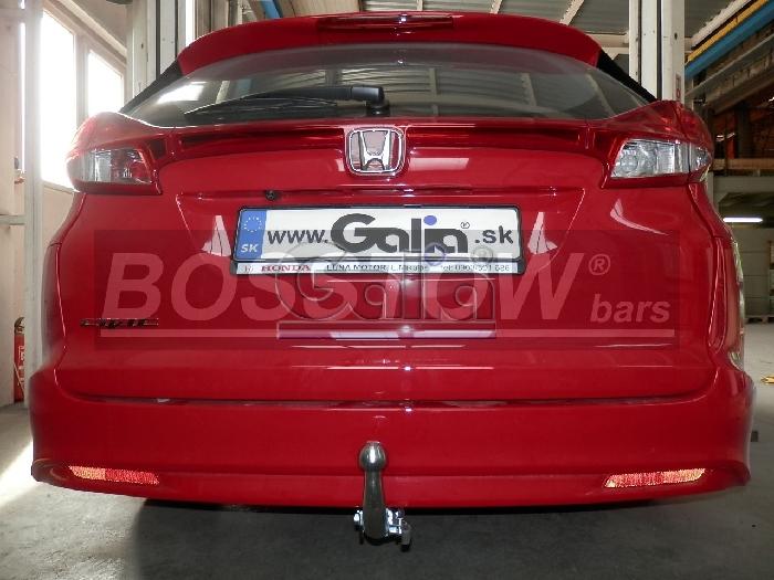 Anhängerkupplung für Honda-Civic - 2014- Tourer Ausf.:  horizontal