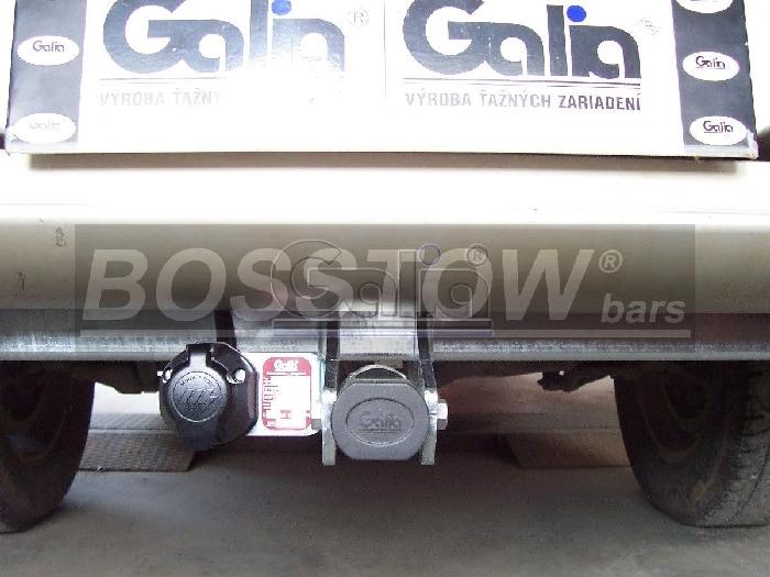 Anhängerkupplung für Mitsubishi-L200 - 2010-2015 Fzg. mit Kunststoff- Stossstange Ausf.:  horizontal