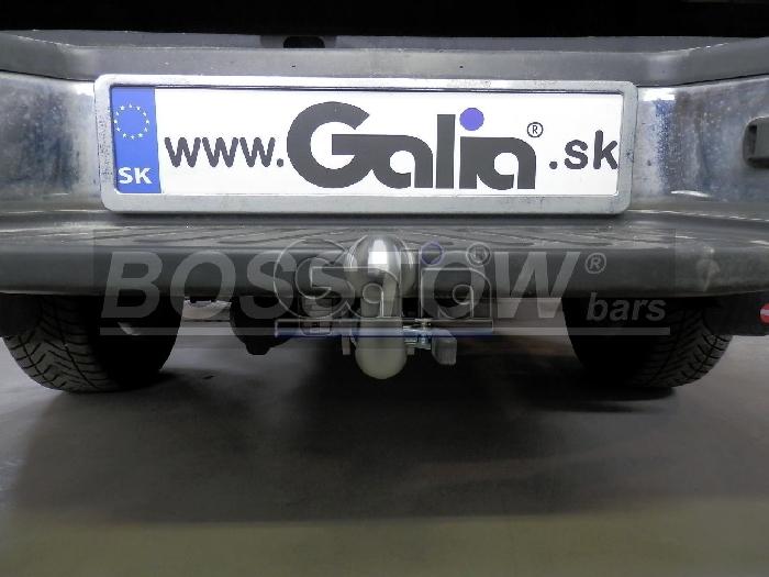Anhängerkupplung für Nissan-Navara - 2005-2010 D40 mit Trittstoßstange Ausf.:  horizontal