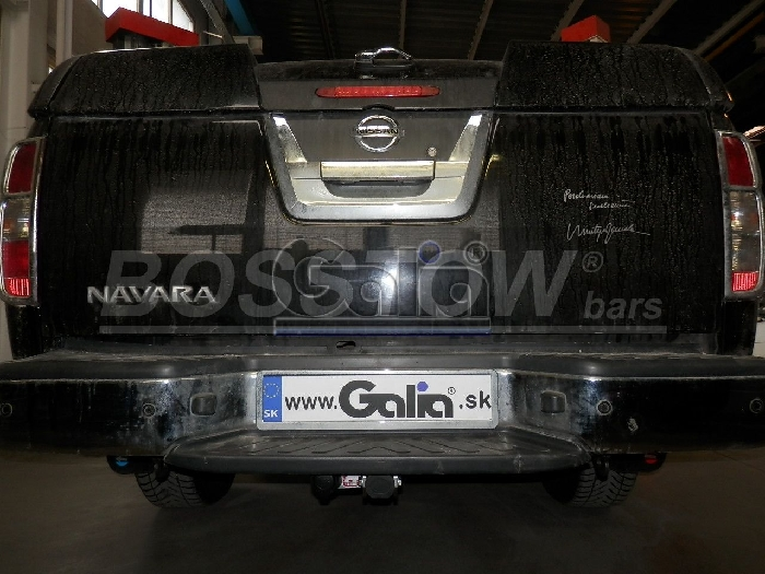 Anhängerkupplung für Nissan-Pick-Up - 2015-2018 NP300 D23, Fzg. mit Trittstoßfänger Ausf.:  horizontal