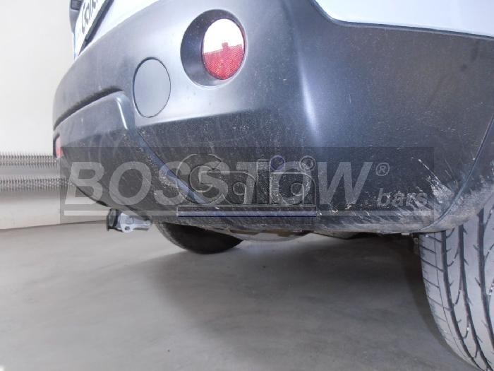 Anhängerkupplung für Nissan-Qashqai - 2018- spez. Adblue Ausf.:  horizontal