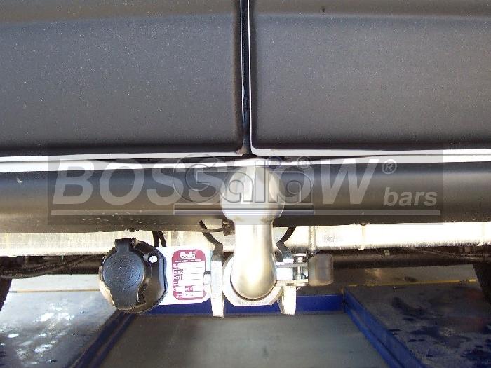 Anhängerkupplung für Opel-Movano - 2006-2010 Kasten, Bus, Kombi Ausf.:  horizontal