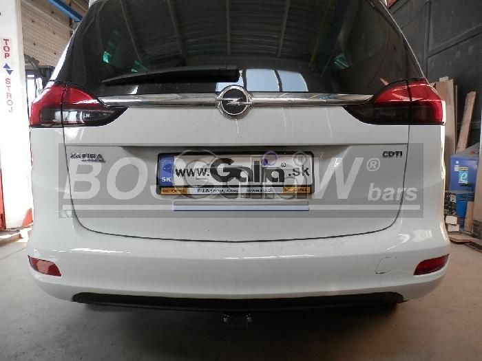 Anhängerkupplung für Opel-Zafira - 2012-2016 C, Tourer, spez. CNG Ausf.:  horizontal