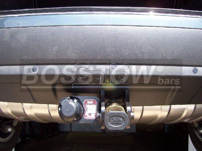 Anhängerkupplung für Porsche-Cayenne - 2010-2014 nicht Fzg mit ACC / Distanzregulierung Ausf.:  horizontal