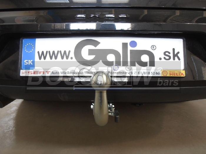 Anhängerkupplung für Seat-Exeo - 2009- Limousine Ausf.:  horizontal