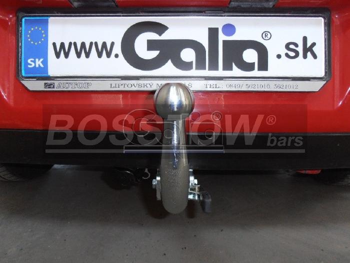Anhängerkupplung für Seat-Ibiza - 2002-2007 Fließheck, nicht Cupra, GLX, GTI Ausf.:  horizontal