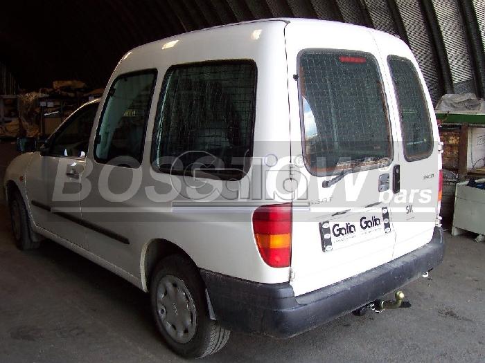 Anhängerkupplung für Seat-Inca - 1995-2004 Ausf.:  horizontal