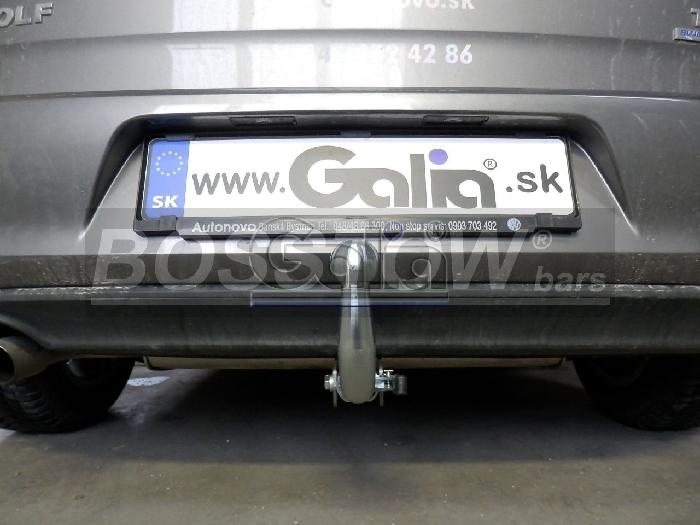 Anhängerkupplung für Seat-Leon - 2012-2014 Fließheck Typ 5F Ausf.:  horizontal