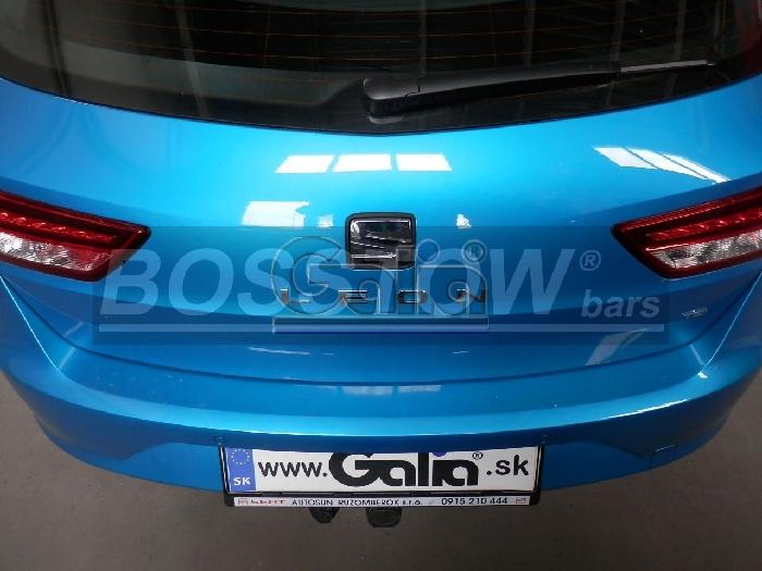 Anhängerkupplung für Seat-Leon - 2014-2017 ST Kombi Ausf.:  horizontal
