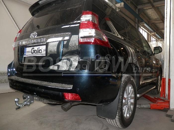 Anhängerkupplung für Toyota-Landcruiser - 2009- 150 Ausf.:  horizontal