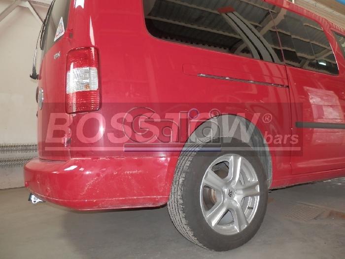 Anhängerkupplung für VW-Caddy - 2007-2015 III, IV, Maxi mit Benzin- o. Dieselmotor Ausf.:  horizontal
