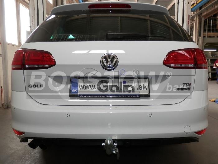 Anhängerkupplung VW Golf VII Variant, Baureihe 2014-2017  horizontal