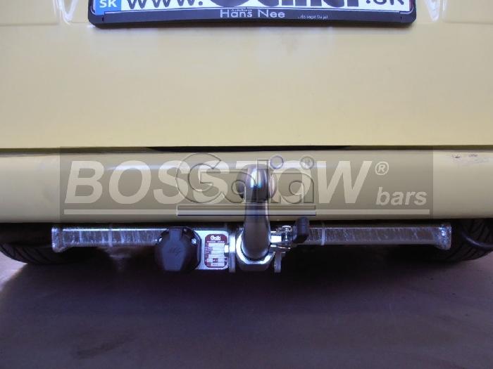 Anhängerkupplung für VW-Transporter - 1998- T4, Kasten Bus inkl. Caravelle Multivan, nicht Syncro Ausf.:  horizontal