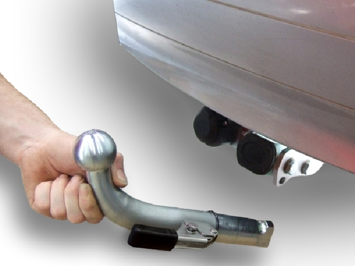 Anhängerkupplung für Renault-Scenic - 1997-1999 Scenic I, nicht 2. 0 16V Ausf.:  horizontal