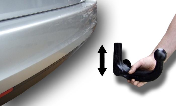 Anhängerkupplung für Subaru-Impreza - 2001-2008 Limousine, nicht WRX, STI Ausf.:  vertikal