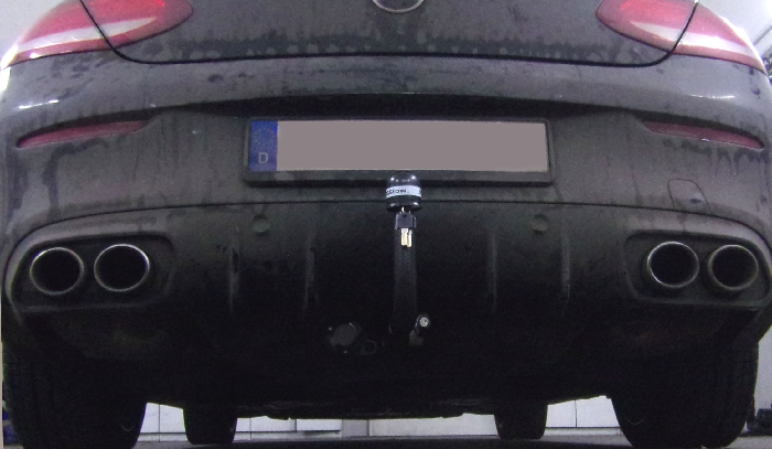 Anhängerkupplung für Mercedes-AMG-AMG C43 - 2018- Cabrio C205 Ausführung C43 (vorab Anhängelastfreigabe prüfen), Montage nur bei uns Ausf.:  vertikal